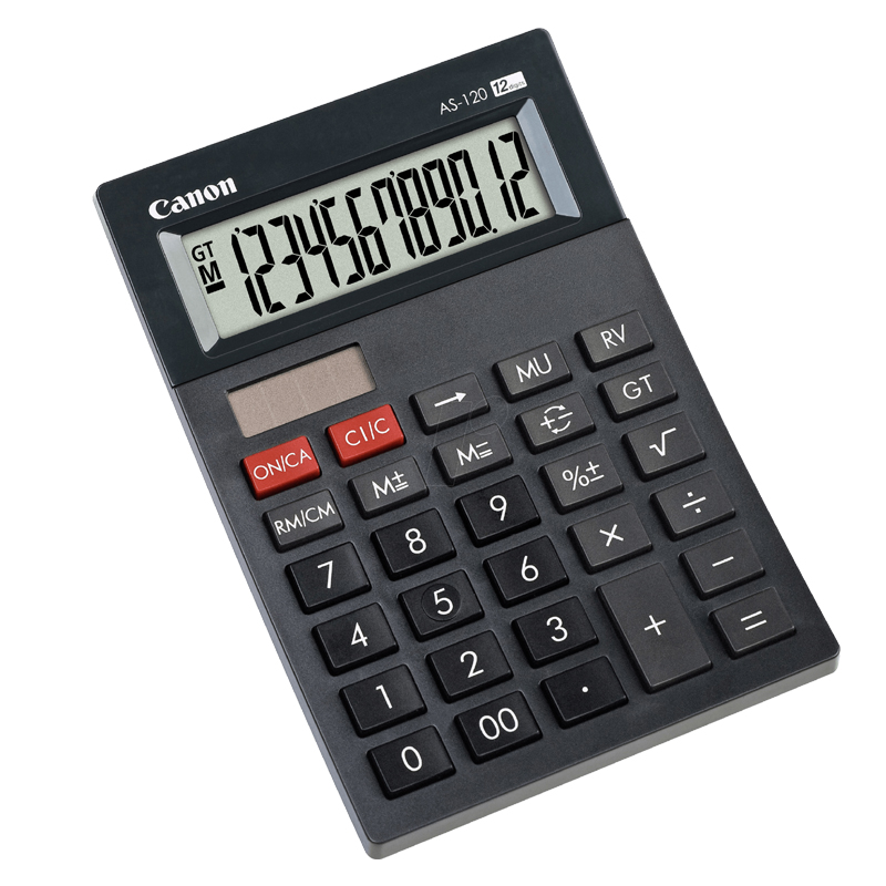 Canon AS-120 12 Digits Calcutor