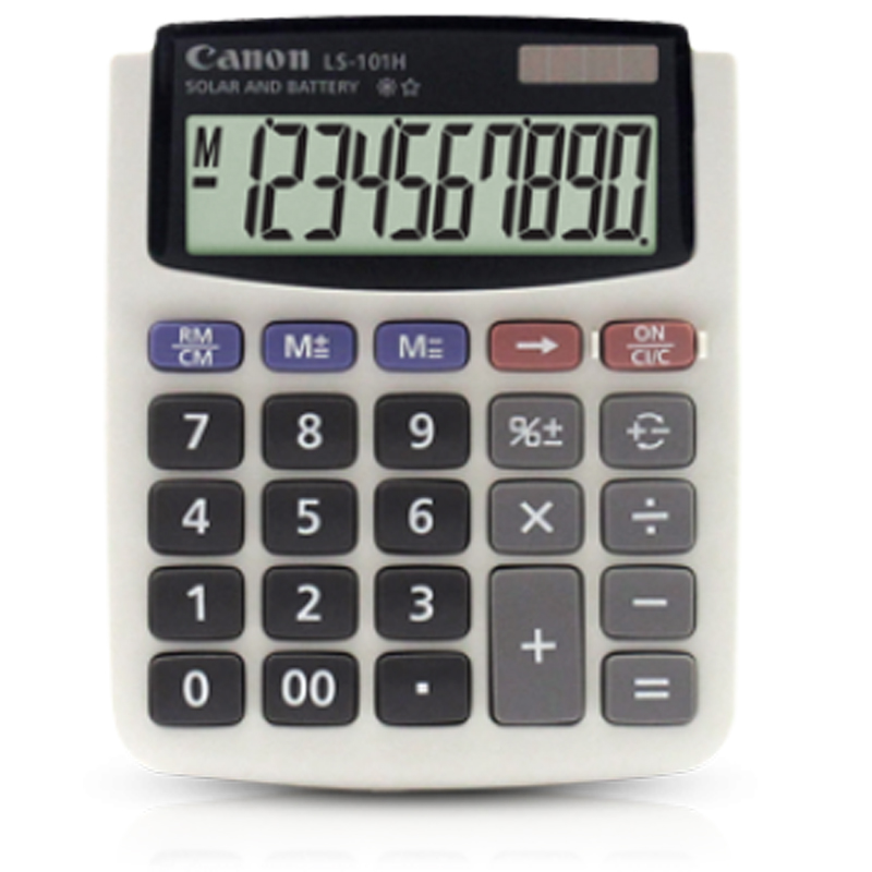 Canon LS-101H 10 Digits Calculator