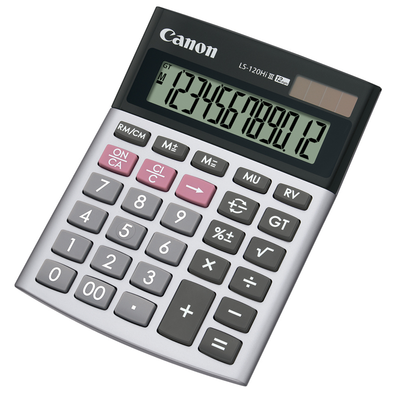 Canon LS-120HI III 12 Digits Calculator