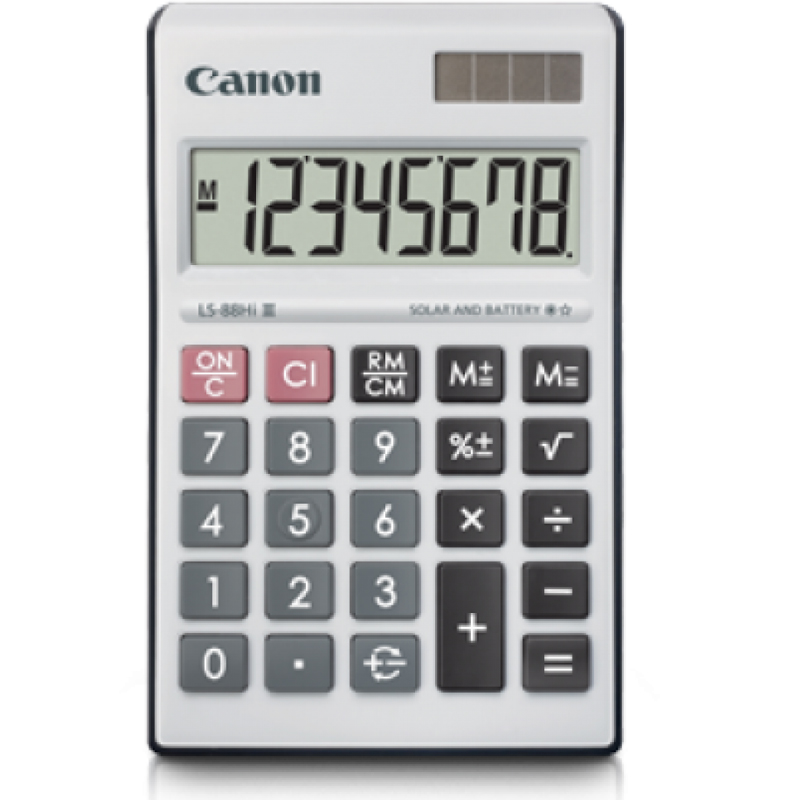 Canon LS-88HI 8 Digits Calculator