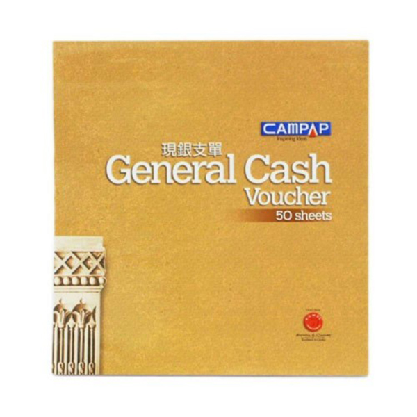 Campap CA3821 General Cash Voucher 50's