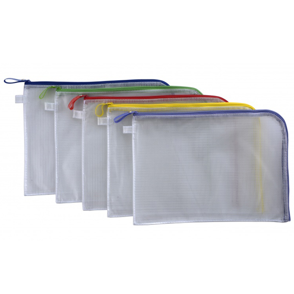 CBE 013229 Zip Mesh Bag (L Shape Open)