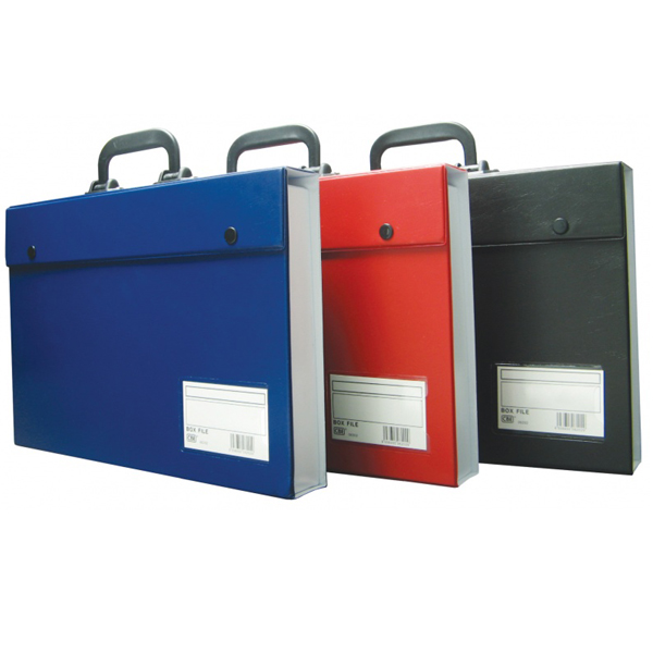 CBE 06202 PVC Box File with Handle