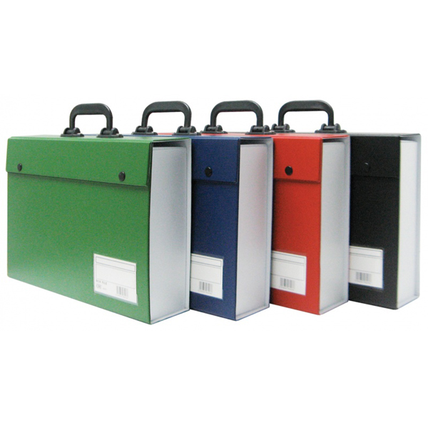 CBE 06203 PVC Box File with Handle