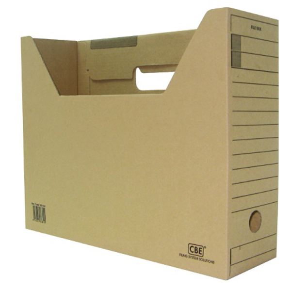 CBE 068144 Cardboard Filing Case File Box