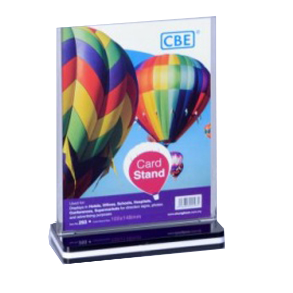 CBE 291 Vartical Card Stand A5