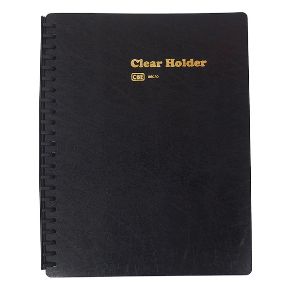 CBE 86030 PP Clear Holder A4 Refillable