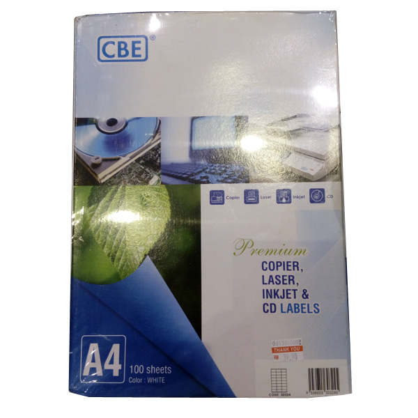 CBE 30316 Inkjet Label 34x105mm