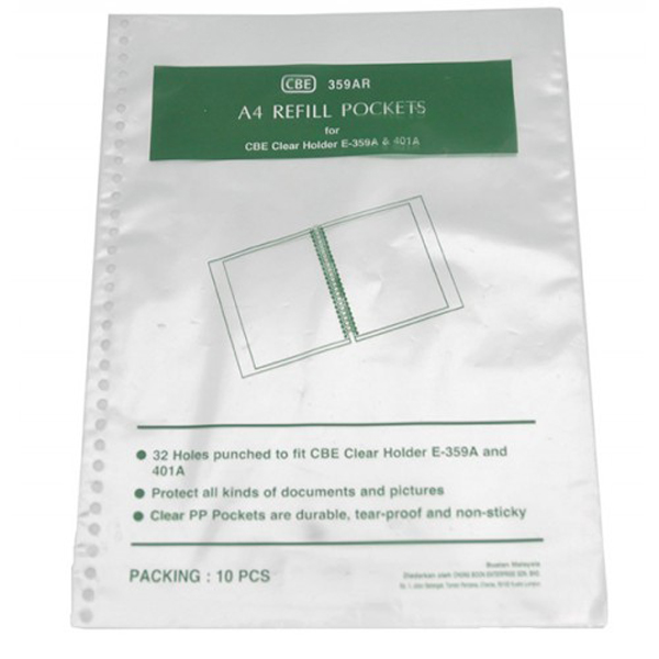 CBE Refill Pocket for 359A & 401A