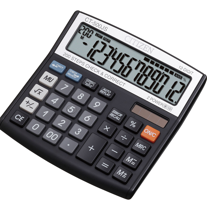 Citizen CT-500J 12 Digits Calculator