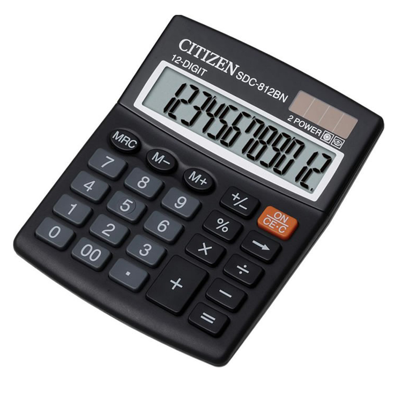 Citizen SDC-812II Calculator