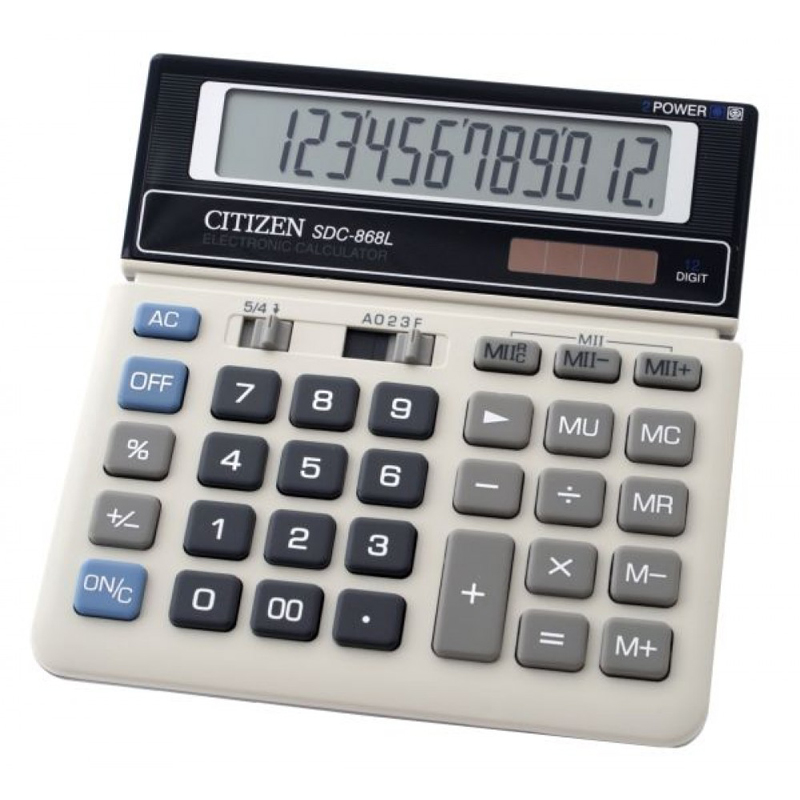 Citizen SDC-868L II Calculator