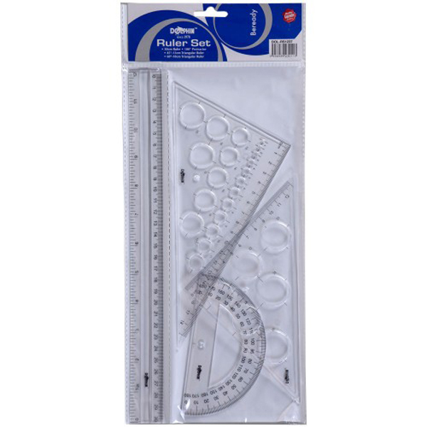 Dolphin RS1237 Ruler Set