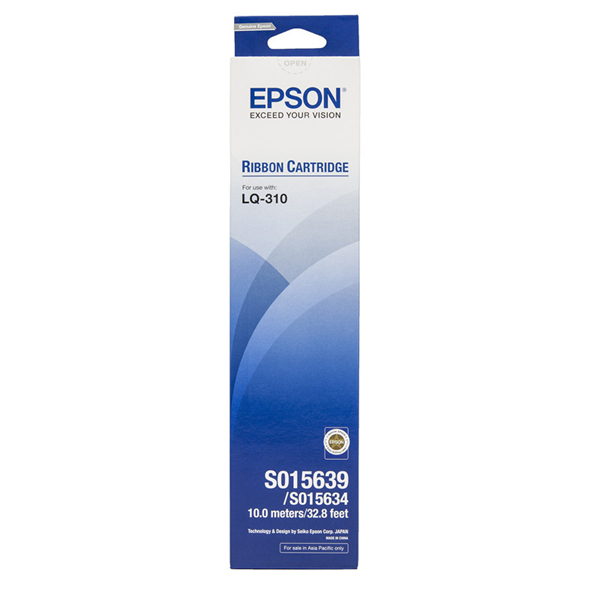 Epson LQ-310 Ribbon Cartridge S015639
