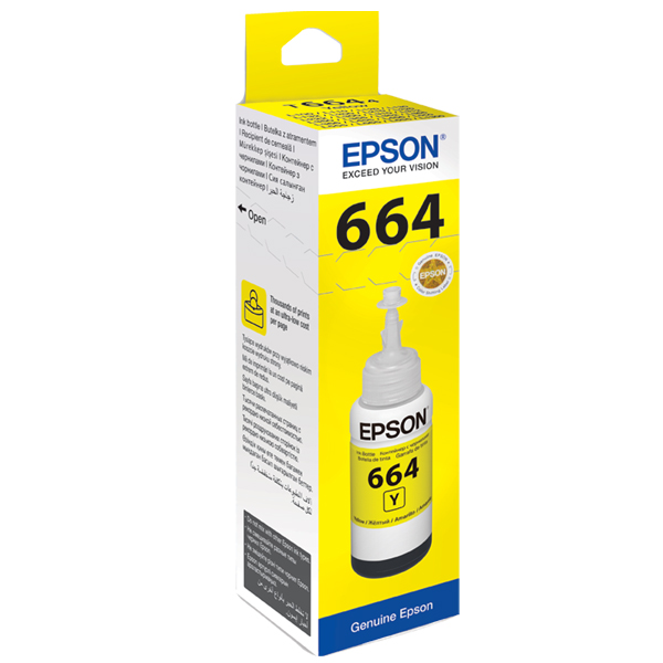 Epson T664 Yellow Ink