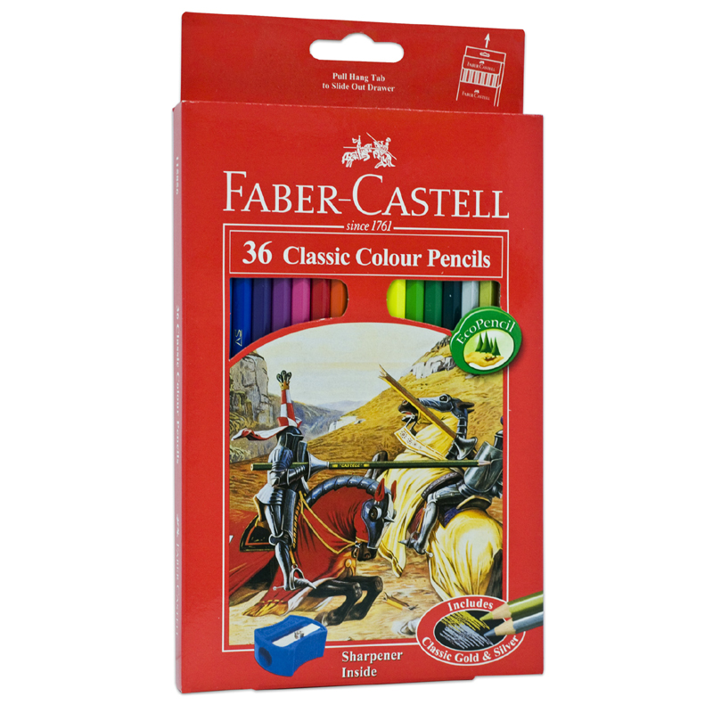 Faber Castell 36L Classic Colour Pencil (Long)