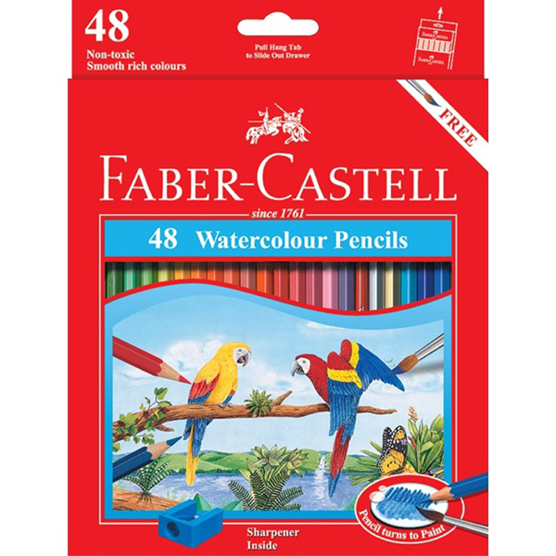 Faber Castell 48L Water Colour Pencil