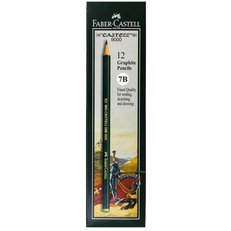 Faber-Castell 7B 9000 Pencil, Five Star Stationery Sdn Bhd ...
