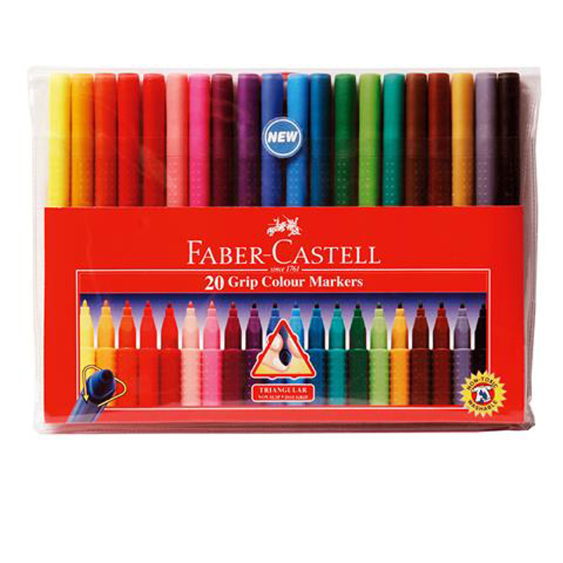 Faber Castell 20 Colour Jumbo Magic Colour