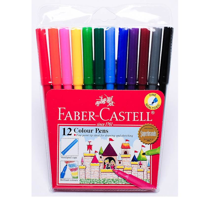 Faber Castell 12 Colour Magic Colour