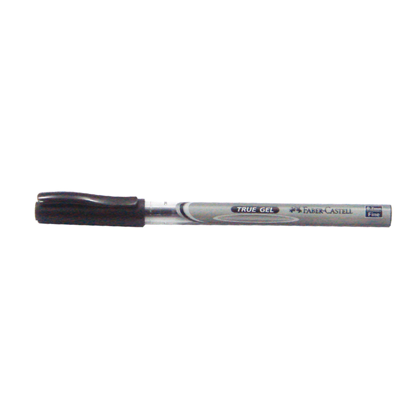 Faber-Castell True Gel Pen 0.7mm - Black