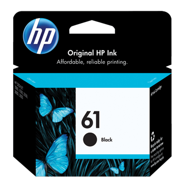 HP 61 Original Black Ink Cartridge