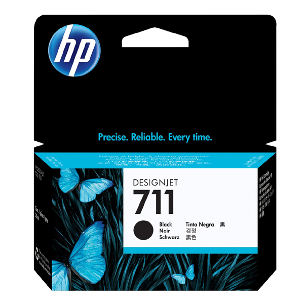 HP 711 Original Black Cartridge 80ml