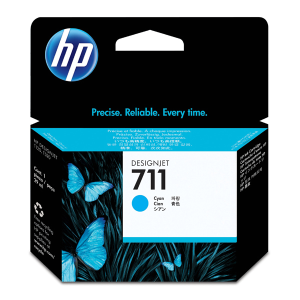 HP 711 Original Cyan Ink Cartridge 29ml