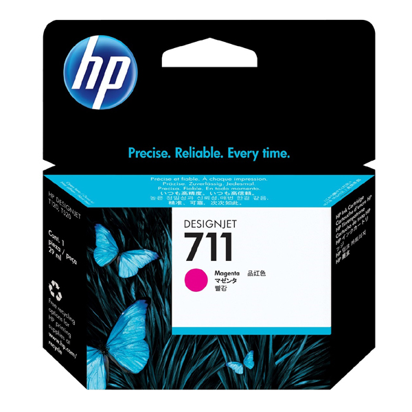HP 711 Original Magenta Ink Cartridge 29ml
