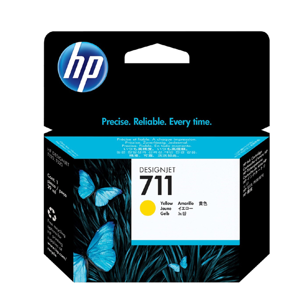 HP 711 Original Yellow Ink Cartridge 29ml