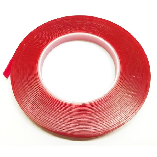 Loytape 12mm x 8.3m Clear Acrylis Foam Tape