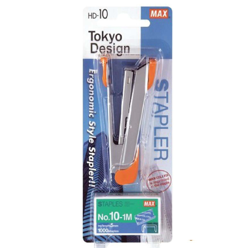 Max HD-10K Stapler+ No.10-1M