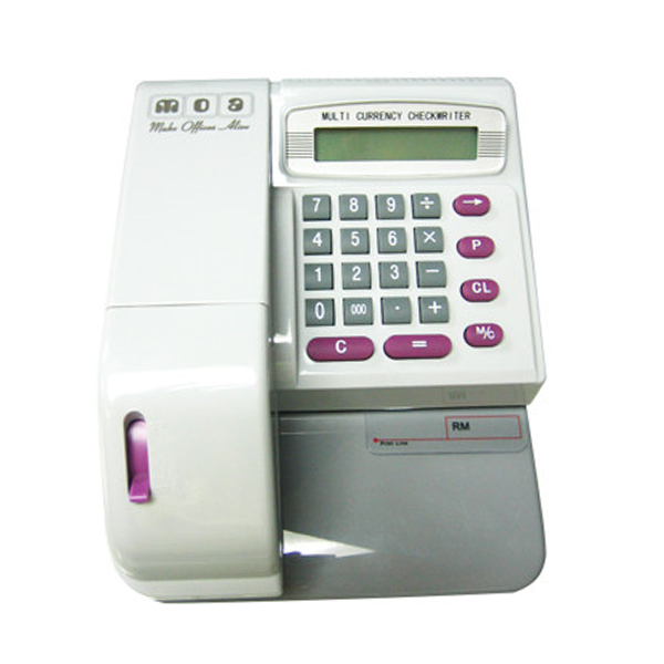 MOA Checkwritter MCEC-310 Multi Currency Cheque Writer