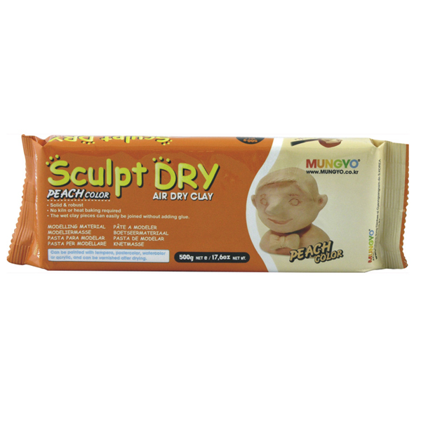 Mungyo Sculpt Dry Peach Air Dry Clay