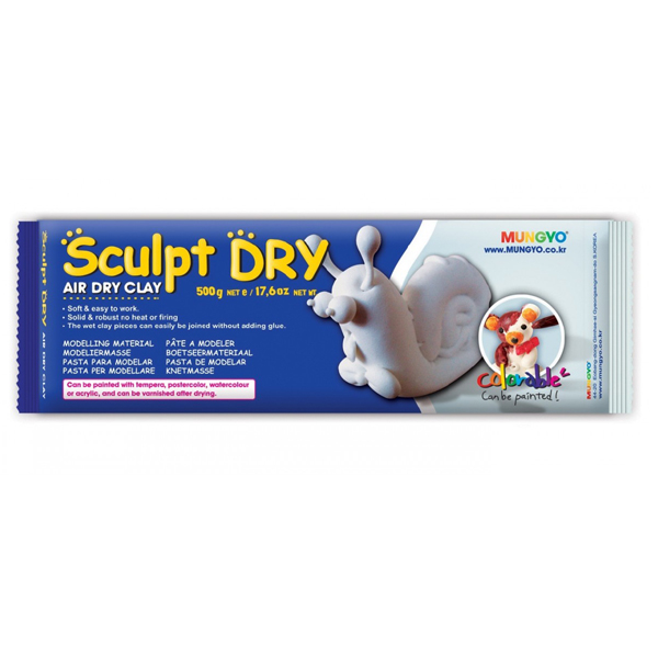 Mungyo Sculpt Dry White Air Dry Clay