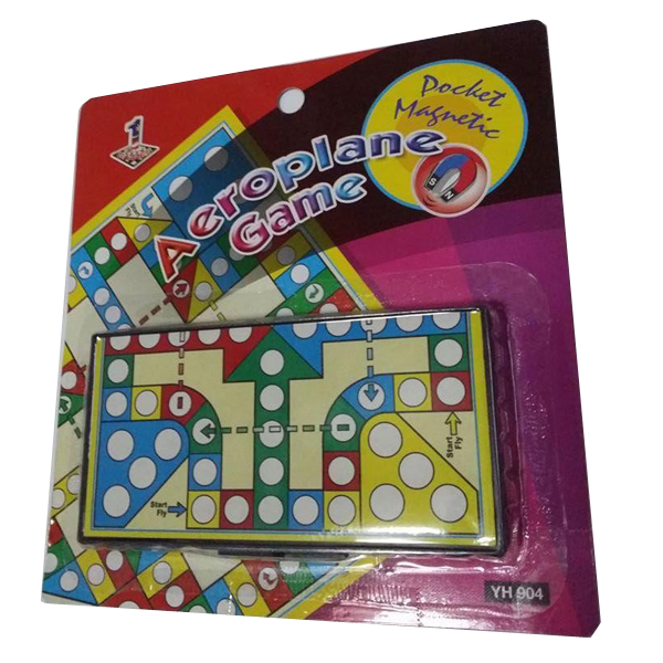 Pocket Magnetic Aeroplane Game YH904