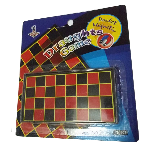 Pocket Magnetic Draughts Game YH903