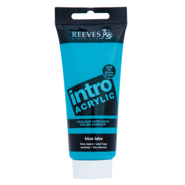 Reeves Intro Acrylic Tube 120ml Blue Lake