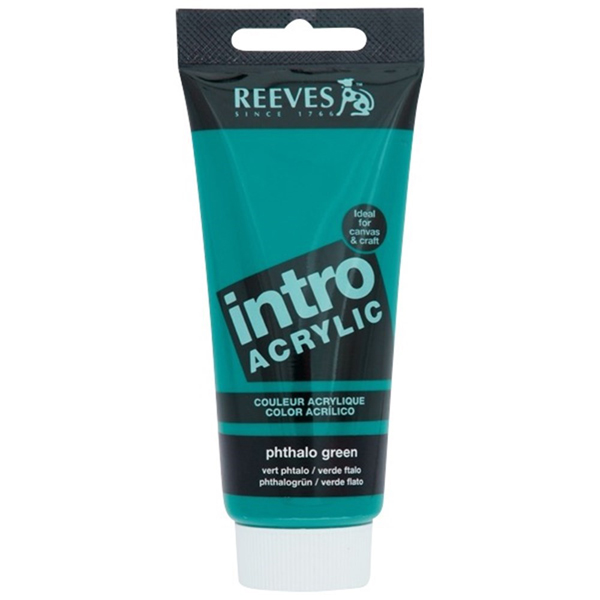 Reeves Intro Acrylic Tube 120ml Phthalo Green