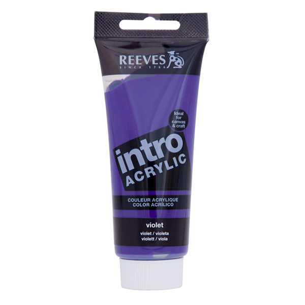 Reeves Intro Acrylic Tube 120ml Burnt Violet