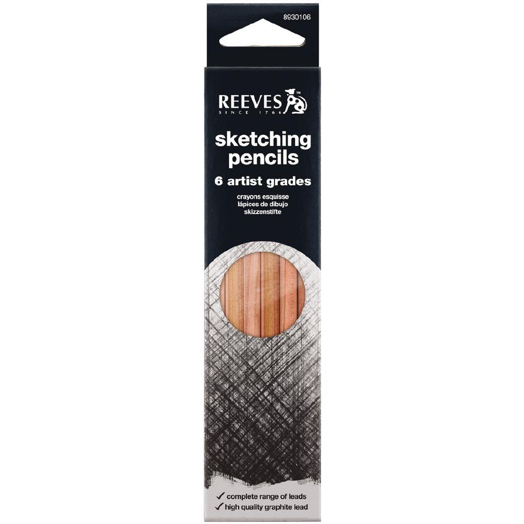 Reeves Sketching Pencil 6's Artist Grades
