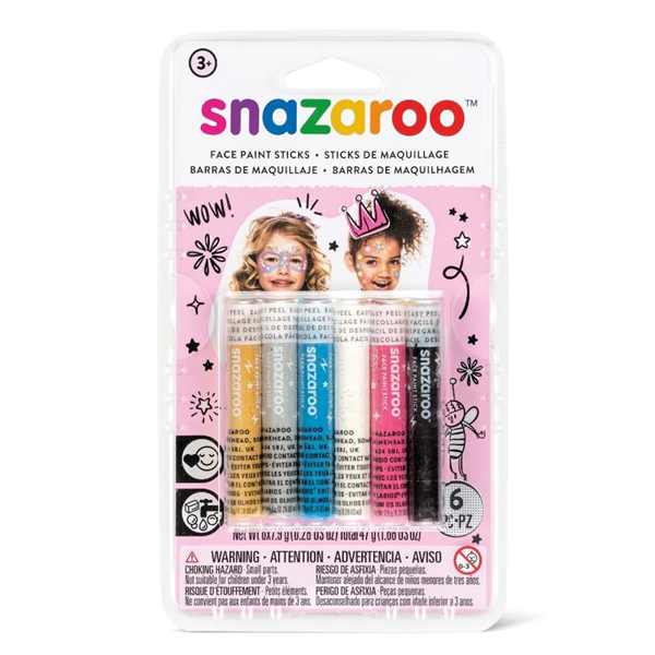 Snazaroo Face Painting Sticks - Girls