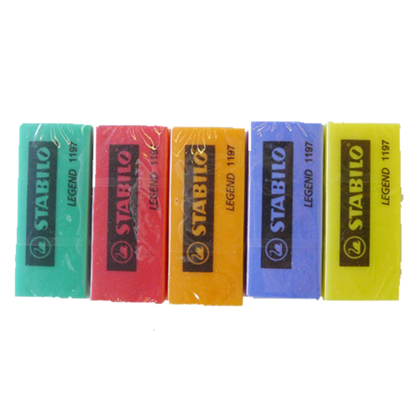 Stabilo 1197 Coloured Cool Eraser