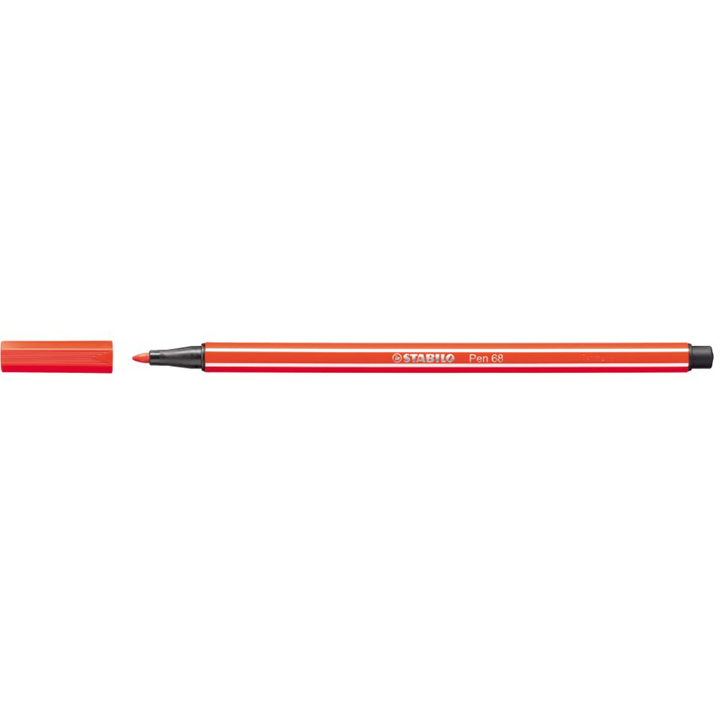 Stabilo Point 68/40 Pen - Light Red