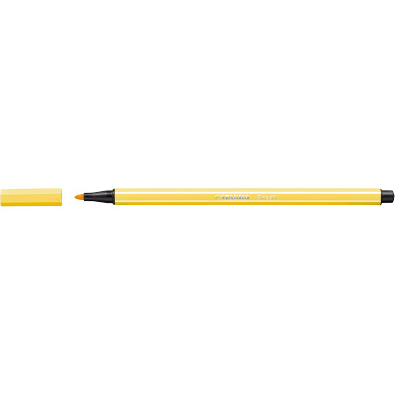 Stabilo Point 68/44 Pen - Yellow