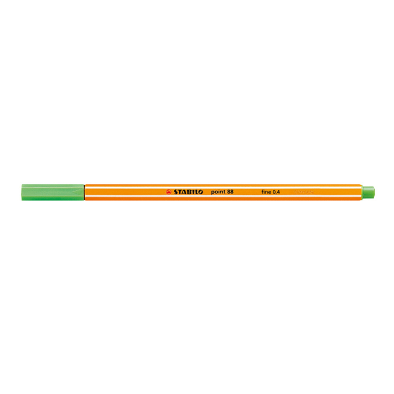 Stabilo Point 88/33 Pen - Apple Green