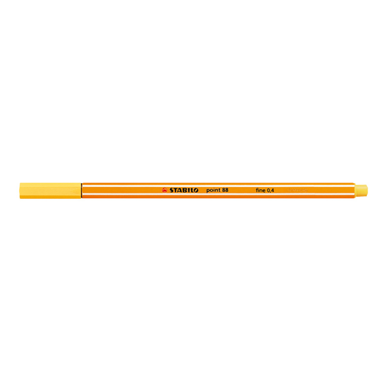 Stabilo Point 88/44 pen - yellow