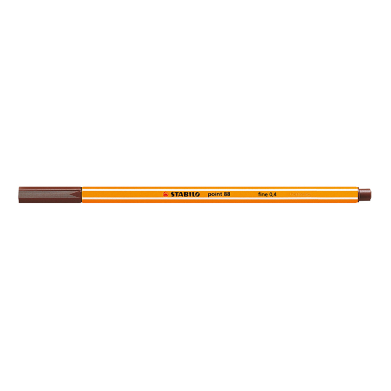 Stabilo Point 88/45 pen - Brown