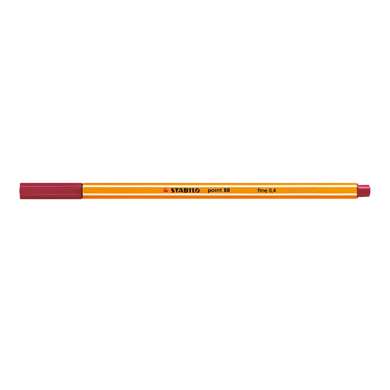 Stabilo point 88/50 Pen - Red Deep
