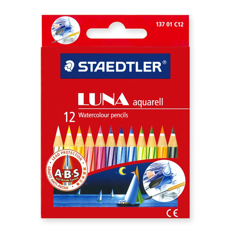 Staedtler Luna 12 Colour Pencil 137 (Short)